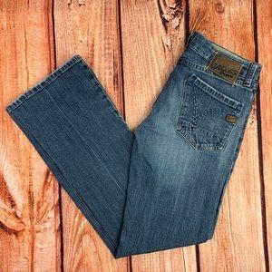 Vigoss Studio Embroidered Pocket Jeans